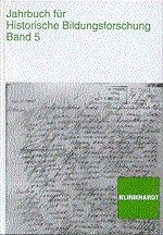 jahrbuch fur historische bildungsforschung band 12