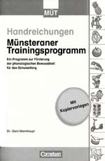 Münsteraner Trainingsprogramm